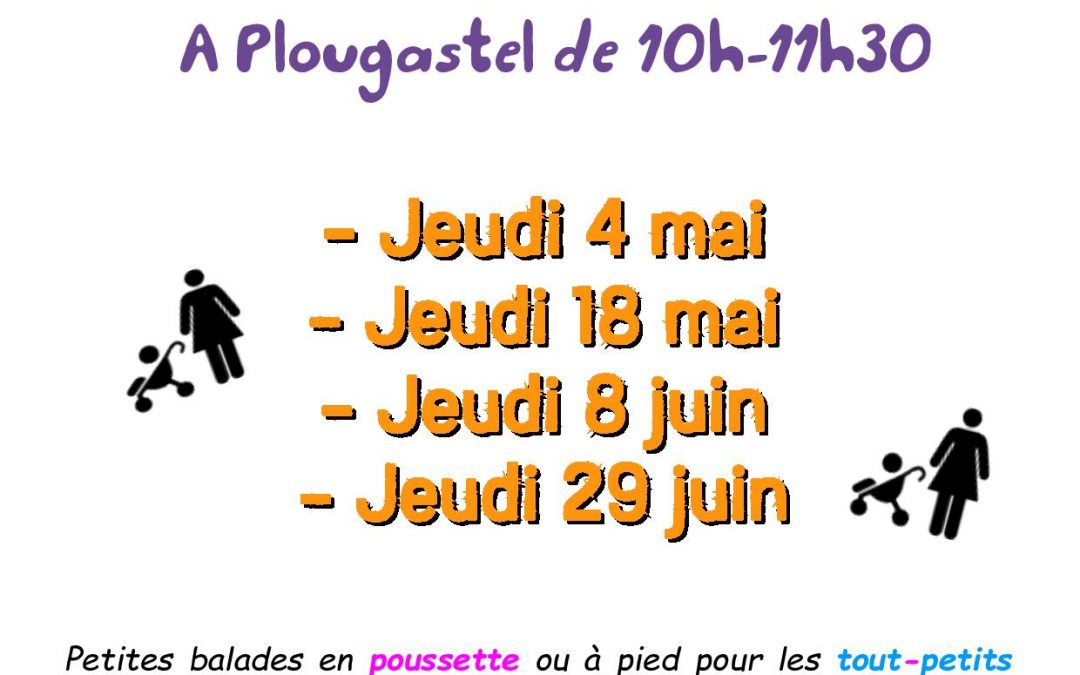 Dates de Printemps des Rando-poussettes et Petites-jambes