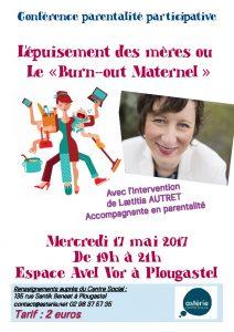 Conférence parentalité participative : L'épuisement des mères ou le «burn-out maternel»