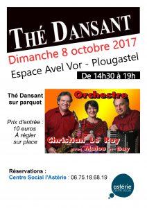 Thé dansant – dimanche 8 octobre 2017