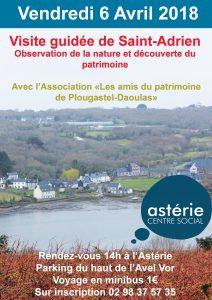 Visite guidée  et découverte du patrimoine de Saint-Adrien