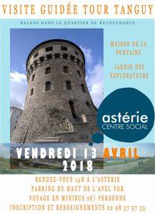 Visite guidée de la tour Tanguy et balade dans le quartier de Recouvrance