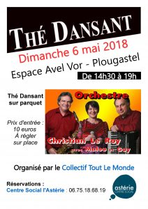 Thé dansant du 6 mai 2018