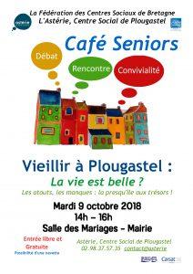Café Seniors : vieillir à Plougastel, la vie est belle ?
