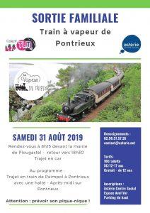 Sortie familiale au Train à Vapeur de Pontrieux