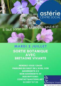 Sortie Botanique avec Bretagne Vivante mardi 2 juillet 2019