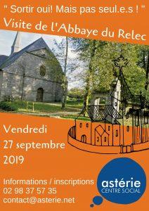 Sortie Loisirs et Découvertes Visite de l'Abbaye du Relec Vendredi 27 septembre 2019