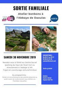 Sortie familiale à l'abbaye de Daoulas