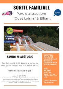 Sortie familiale au parc d'attractions «Odet Loisirs»