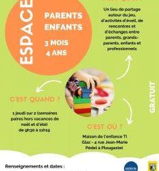 Réouverture de l'espace parents/enfants 3 mois – 4 ans