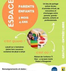 Nouveauté – Espace parents-enfants 3 mois/4 ans