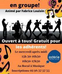 """Atelier """"Musique en groupe"""""""