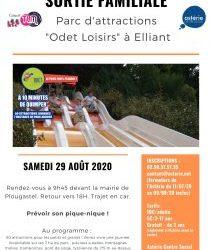 """Sortie familiale au parc d'attractions """"Odet Loisirs"""""""