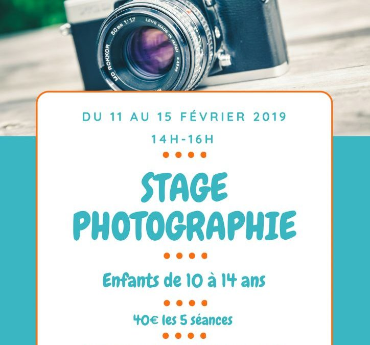 Stage Photographie – Complet
