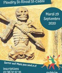 Sortie Loisirs et Découvertes Ploudiry St-Rivoal St Cadou visite commentée avec Michel KERVELLA